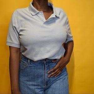 🎯 Men's Light Blue Collar Shirt